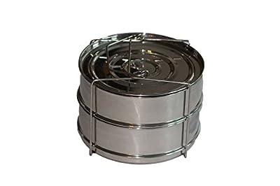 ekovana Stackable Pressure Cooker Insert Pans