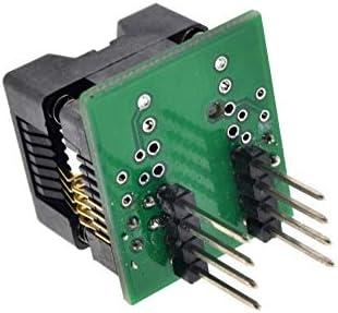 Elektronisches Zubehör SOIC8 SOP8 zu DIP8 Großraumsitz Breite 200mil Programmer Adapter Sockel Zubehör