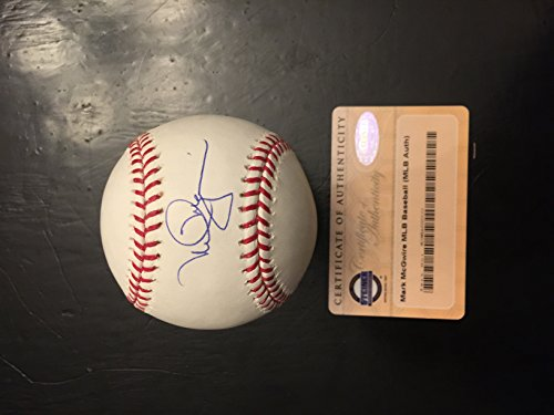 Mark McGwire Autographed Signed MLB Baseball Steiner Sports (Signed Autograph Baseball)