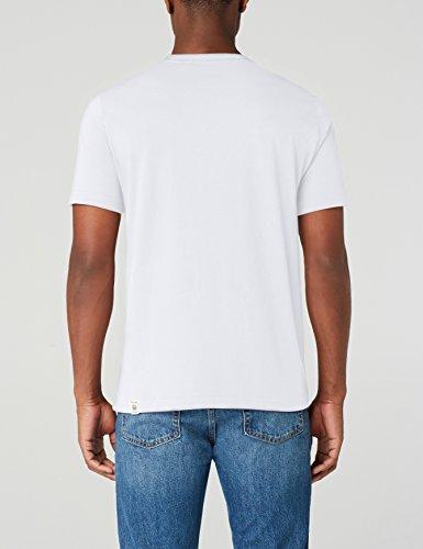 Tee general shirt 2045 Print Weiß White Uomo T Mustang 5YtgxUx