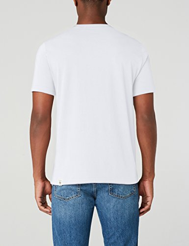 Weiß T Uomo Tee White Mustang 2045 shirt Print general XTqFnnw1x
