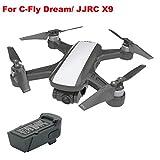Celendi 11.4V 1000mAh Battery for JJR/C X9/ C-Fly Dream RC Quadcopter Drone Spare Parts