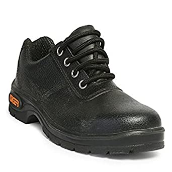 c441b74096d Tiger Steel Toe Men Safety Shoes Size 11 Inch Black: Amazon.in ...