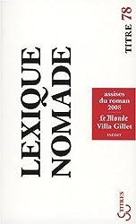 Lexique nomade : Assises du roman 2008