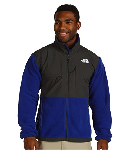 The North Face Men's M Denali Jacket Bolt Blue/Asphalt Grey M