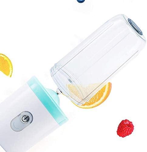 BXZJ Mini Licuadora portátil USB Exprimidor personal recargable para batido Batido Limpieza extraíble Adecuado para cocina Oficina