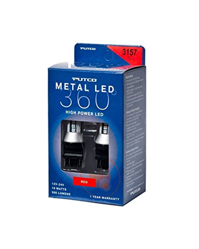 Putco Lighting 343157R-360 Metal LED Bulb ()