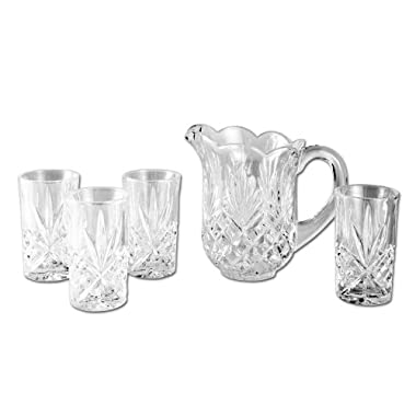 Godinger Dublin 5-Piece Crystal Drink Set