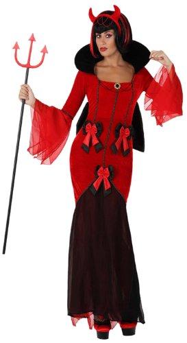 Atosa-14845 Disfraz Demonia para Mujer Adulto, Color rojo, M-L ...