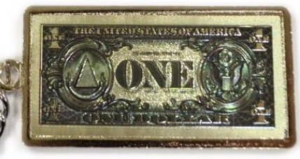 $1 George Washington Keychain Key Chain