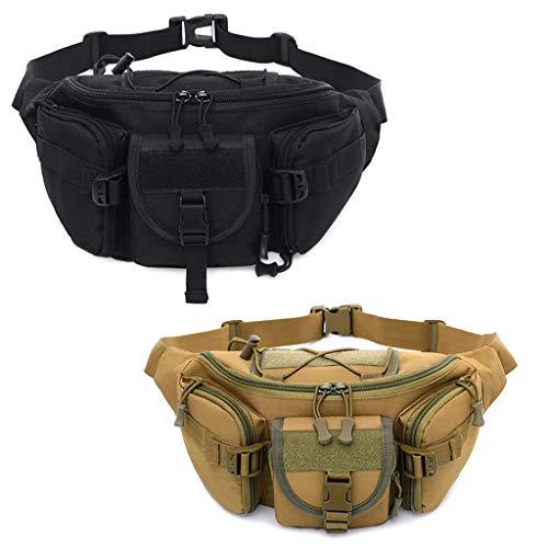 Air Utilitaire Sacs Militaire Camping Black Poche Pack Plein Tactique Sac Ceinture Taille Randonnée Senoow 7xzgp7