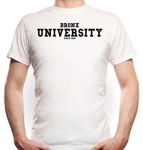 Bronx University T-Shirt White Certified Freak