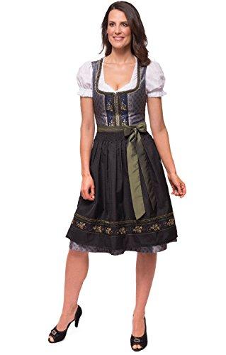 Stockerpoint Minidirndl Isabelle 65cm 2tlg. schiefer