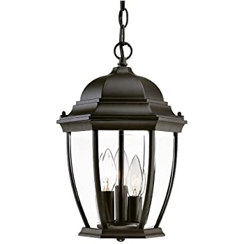 Acclaim 5036bk wexford collection 3 light outdoor light fixture acclaim 5036bk wexford collection 3 light outdoor light fixture hanging lantern matte black aloadofball Image collections