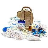 Military Rip-Away EMT First Aid Kit - IFAK Level 1 Army Medic - Tan - #FA16