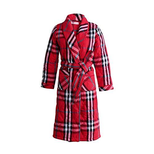 Pijamas E Coral Bañootoño 70kg Bathrobex Albornoz Franela Largas Grueso 170cm60 Invierno Batas Mangas Bata L165 Damas De Acolchadas tfwwqB6g