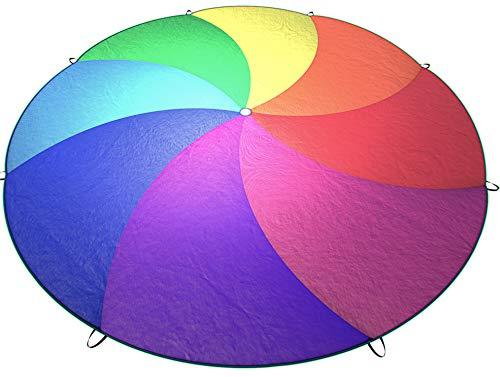 Little Dynamo | Rainbow Play Parachute for Kids