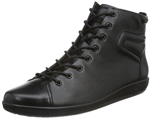 ECCO Soft 2.0, Nero(Black con Black Sole 56723), 43 EU