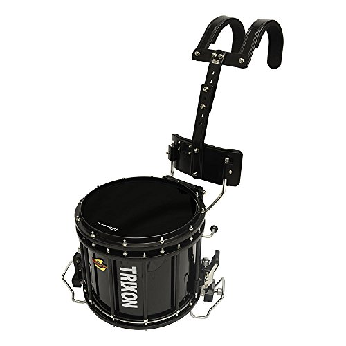 Trixon Field Series Pro Marching Snare - 14'' x 12'' - Black by Trixon Drums
