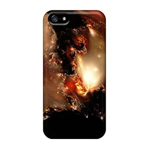Fashionable Style Skin Case For Ipod Touch 4 Cover - Kari Nebula