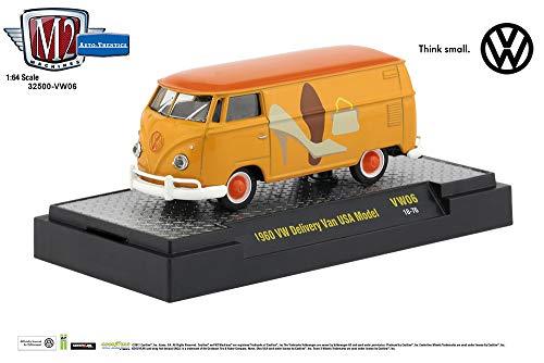 M2 Machines Auto Thentics R VW06 1:64 1960 VW Delivery Van USA Model Shoes Purse (1960 Purses)