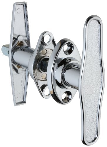 National Hardware V7639 Shaft: 5/16 Square x 3 Blank T-Handles in Chrome by National (Shaft Blank)