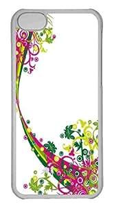 Customized iphone 5C PC Transparent Case - Creative Vectors 57 Personalized Cover