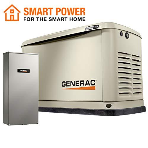 Generac 7032 Air-Cooled Standby Generator, Aluminum