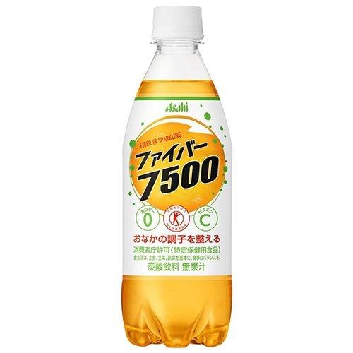 Asahi fiber 7500 food for specified health use (500mlx48 lines) = 2 case (Tokuho / Tokuho / Tokuho) by Fiber 7500