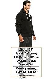 Hipster Hip Hop Pullover Sweatshirts Hoodie Jacket BLACK 3XLARGE