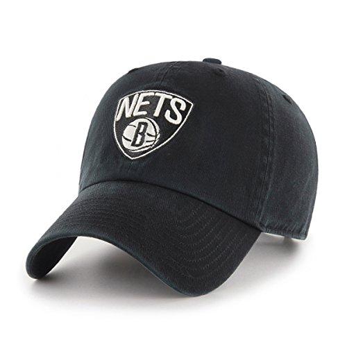 fan products of NBA Brooklyn Nets OTS Challenger Adjustable Hat, Black, One Size