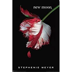 New Moon Movie Twilight Book Cover, Stephenie Meyer Poster Print