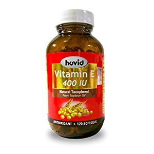 HOVID Vitamin E 400Iu 120 Softgels