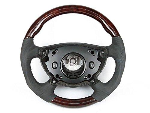 Mercedes W211 Sport Steering Wheel Burl Walnut Wood
