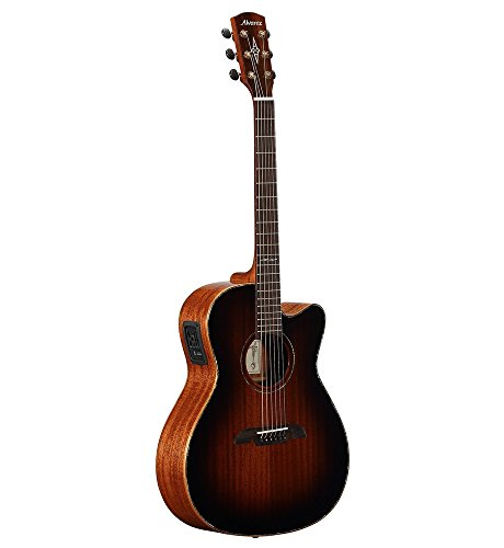 Alvarez MFA66CE Masterworks OM/Folk Acoustic-Electric Guitar Shadow Burst (Alvarez Guitar Acoustic Electric)
