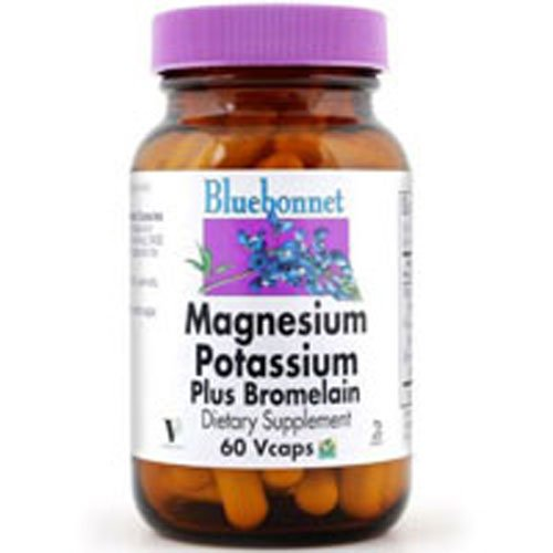 Magnesium Potassium plus Brolemain 120vcap 3-Pack
