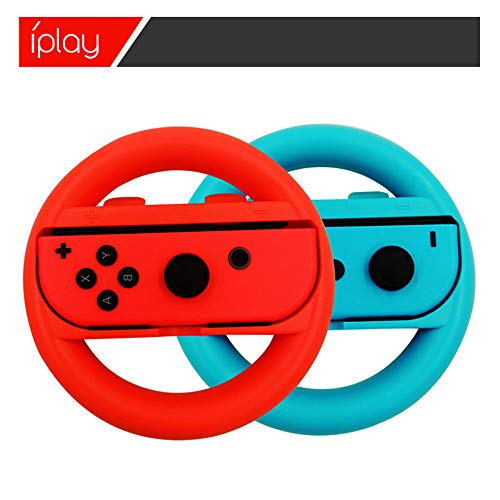 PSFS Grips for Nintendo Switch , 2 Pack Switch Steering Wheel Switch Racing Wheel (B) -