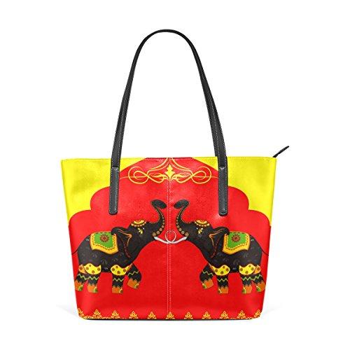 TIZORAX Bolso de tela para mujer multicolor