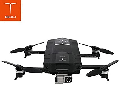 GDU O2 Drone FPV Sliding Arm Foldable Quadcopter with 4K HD Camera GPS & GLONASS Avoidance Sound Wave Positioning VS DJI Mavic Pro