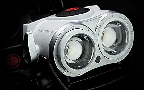 Zweibr/üder Ledlenser White Led Lenser Kopflampe Xeo19r wei/ß S