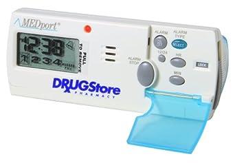 MEDport MEDglider System 1 With Talking Timer Alarm Pill Box Daily Reminder Medication Manager