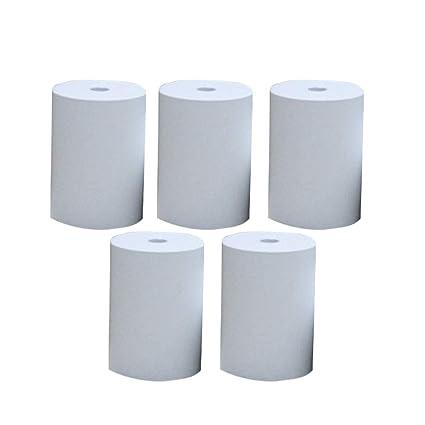 Impresora Papel 5 Rollos Recibo Foto Mini Clear Bill ...