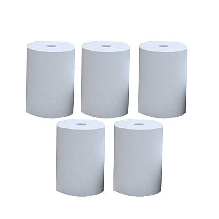 NTRA - Papel para Impresora (5 Rollos, tamaño Mini, para Billetes ...