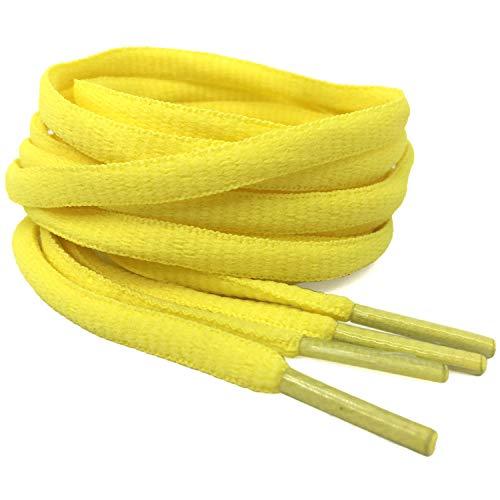 (DELELE 2Pair Oval Shoes laces 42 Colors Half Round 1/4