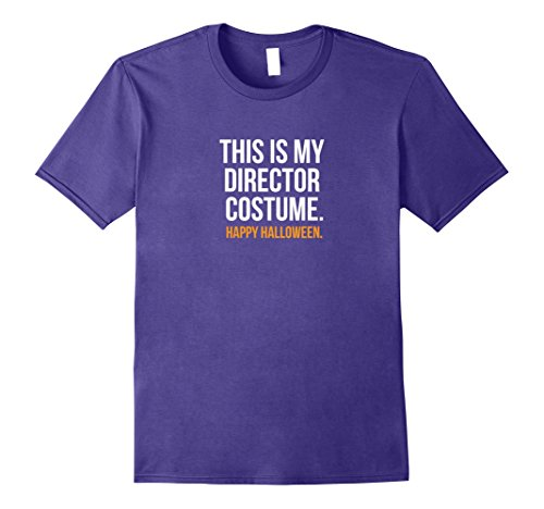 Band Director Halloween Costume (Mens This is my Director Costume funny Halloween tee shirt 3XL Purple)
