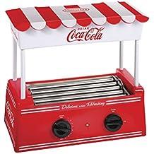 Nostalgia HDR565COKE Coca-Cola Hot Dog Roller and Bun Warmer