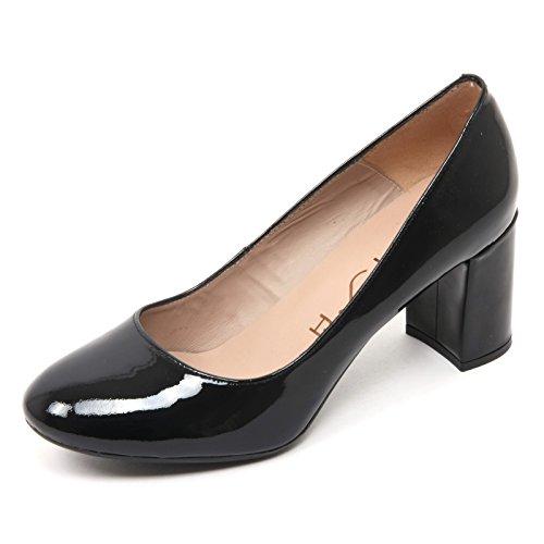 Donna Decollete B7688 Nero Nero Vernice Woman UNISA Scarpa MIFES Shoe EqfxwPW7P5