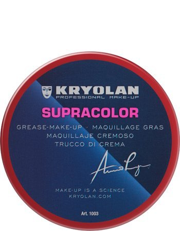 (Kryolan 1003 SUPRACOLOR 55ML Cream Make-up (Youth Red) )