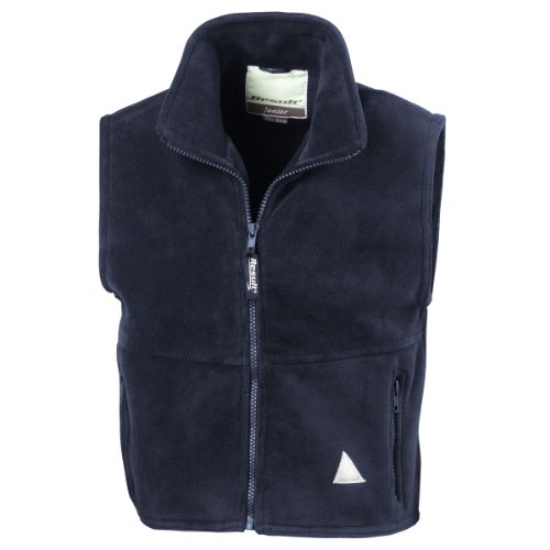 Ergebnis Kindes aktiv Fleece Weste Navy M