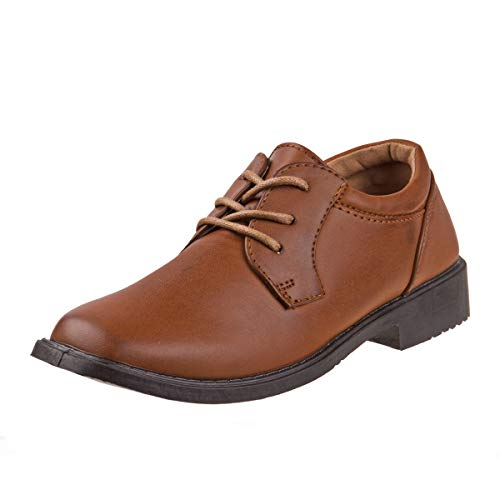 Josmo Boys Basic Oxford Casual Dress Shoe (Toddler, Little Kid, Big Kid) (12 M US Little Kid, ()